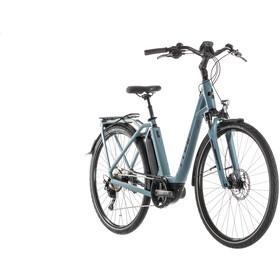 Cube Town Sport Hybrid Pro 500 Bicicletta elettrica da città Easy Entry blu/petrolio